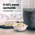 Inovativní rýžovar Lauben Low Sugar Rice Cooker 1500AT